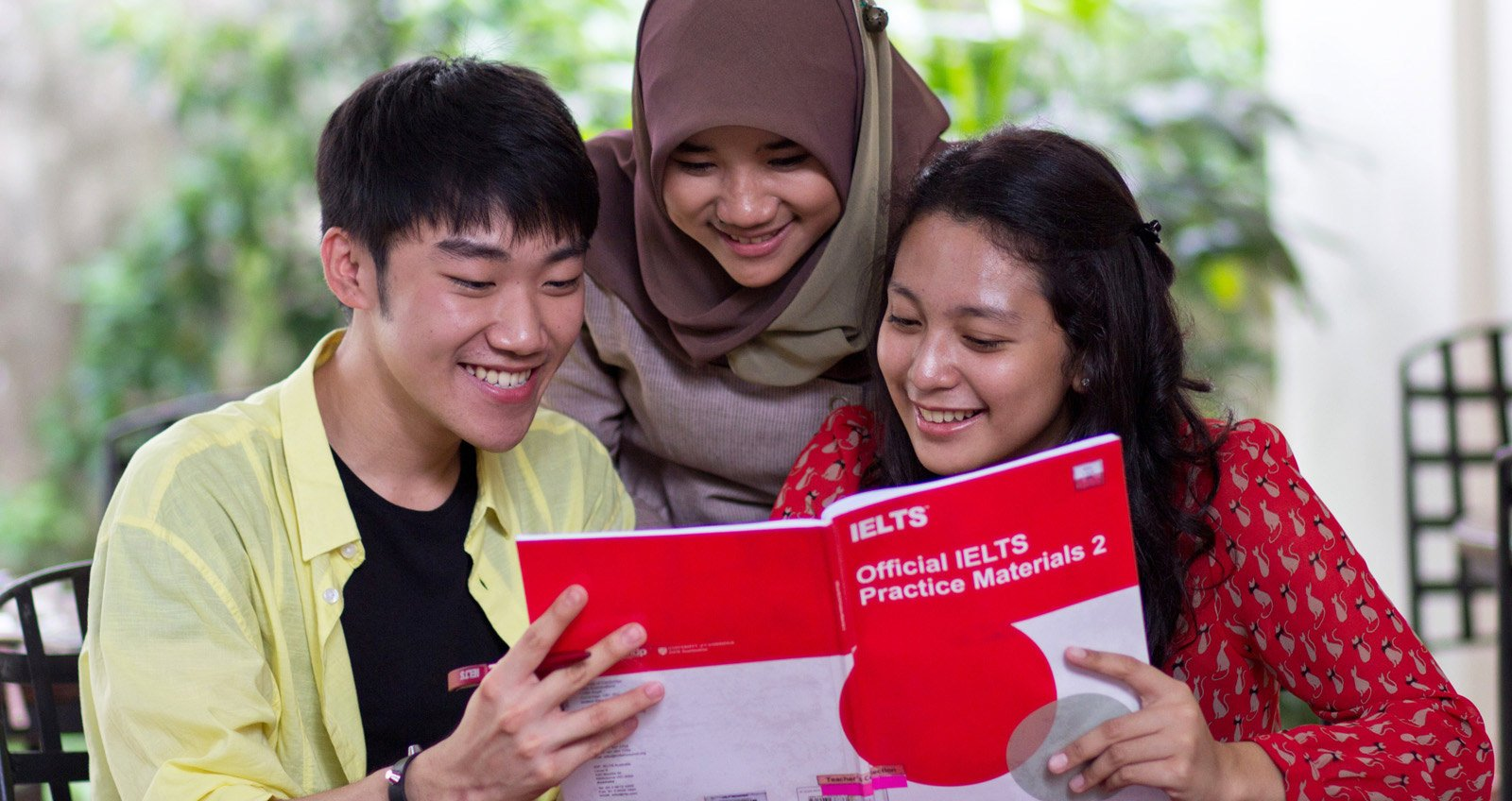 Take IELTS at IALF