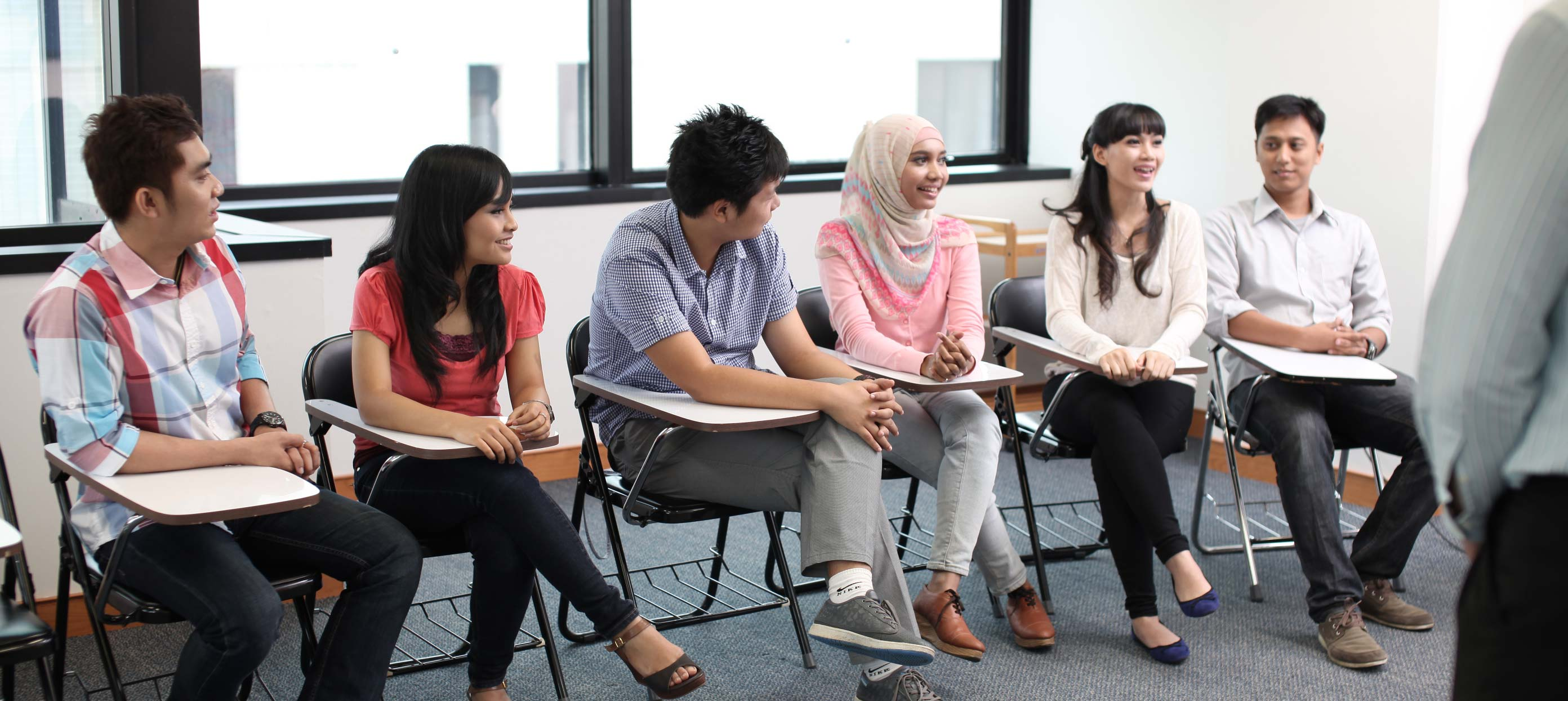 Learning English Facilities - Classroom IALF Jakarta
