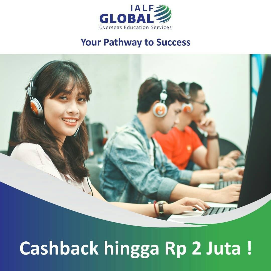 cashback ielts test - ielts prep - ialf global - studi ke luar negeri