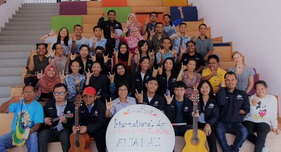 IALF Bali - International Day of Persons with Disabilities -