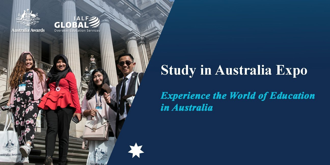 Study in Australia Expo 2020 - Australia Awards - IALF Global Bali