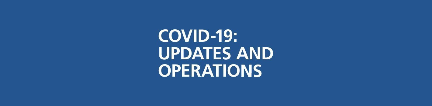 COVID-19 Updates and Operations at IALF