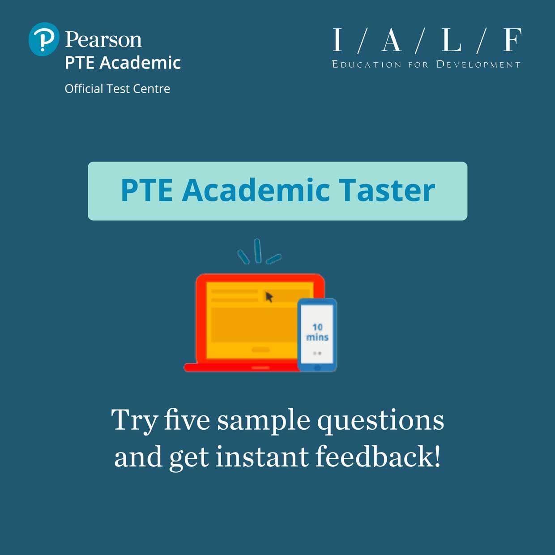 PTE Academic Taster