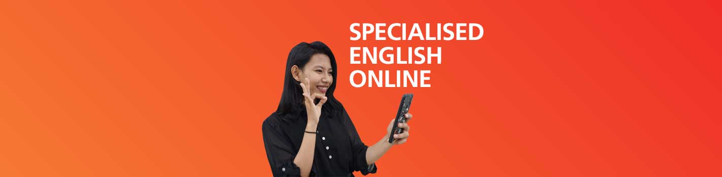 Specialised English Online Programs