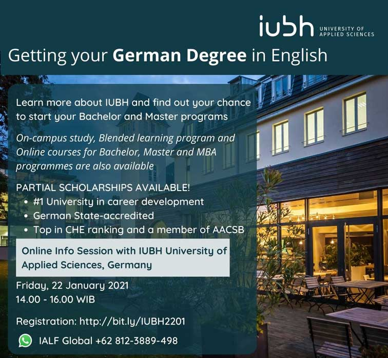 iubh university of applied sciences germany-info session ialf global