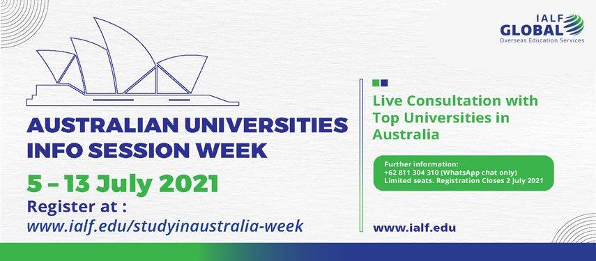 IALF Global Study in Australia Info Session Week-02