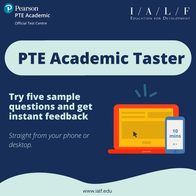 PTE Academic Taster-Try PTE Academic